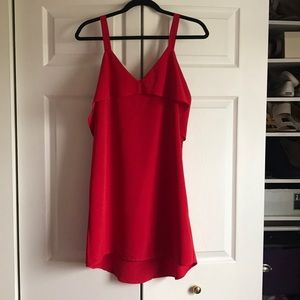 Red mini dress Urban Outfitters